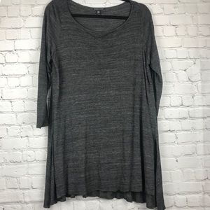 Eileen Fisher Gray Long Sleeve Loose Top